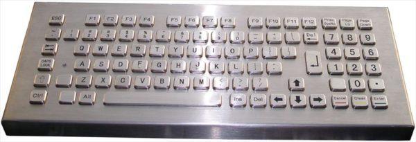 Metalltangentbord